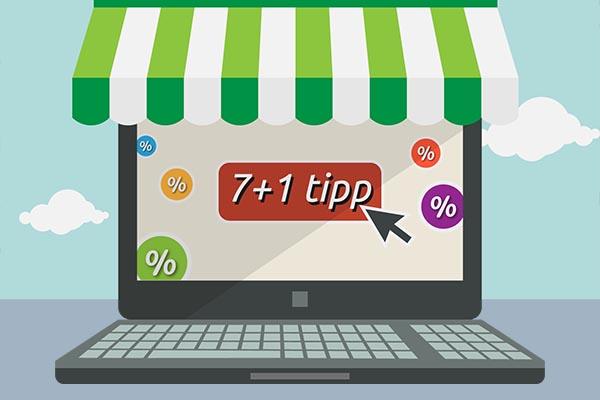 A webshop készítés nem olyan bonyolult! Hoztunk hozzá 7+1 tippet!